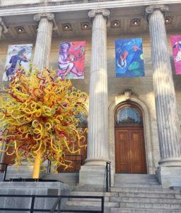 Fachada del museo de bellas artes
