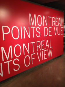 Interior del museo mc cord de Montreal