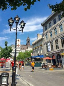 Calle del Vieux Montreal