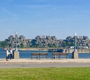 Vista de Habitat 67 Montreal