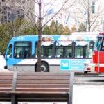 Buses un medio de transporte en Montreal