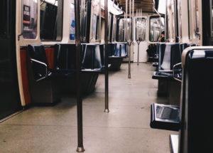Interior metro de montreal
