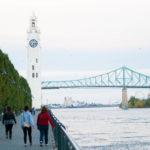 Vista de la Torre del reloj Montreal