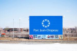 Afiche parque jean drapeau Montreal
