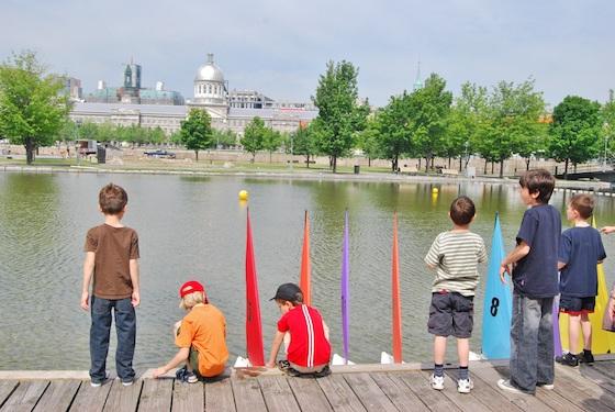 Niños en montreal