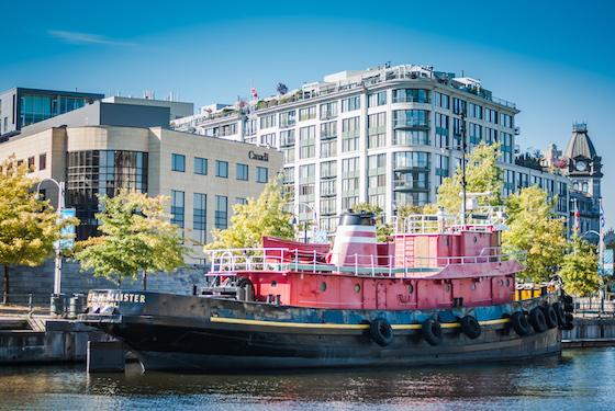Vieux Port Montreal