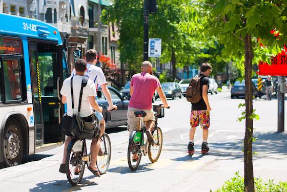 Transportes en Montreal