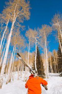 Caminando con el esqui